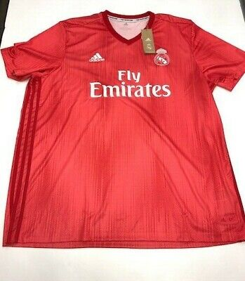 MENS ADIDAS REAL MADRID THIRD SOCCER JERSEY SIZE LARGE NWT 130 DP5445