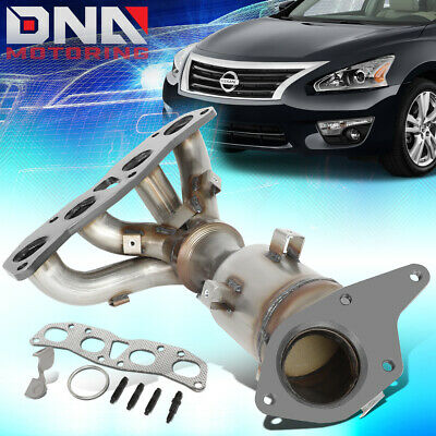 FOR 2007-2012 NISSAN ALTIMA 2-5L ENGINE CATALYTIC CONVERTER EXHAUST MANIFOLD