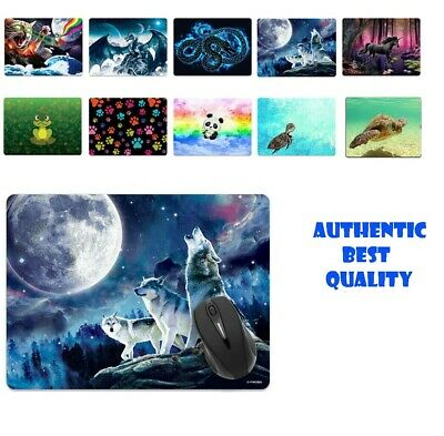 Large Rectangle Mouse Pad Non-Slip Animal Design for Home Office Gaming Desk NEW