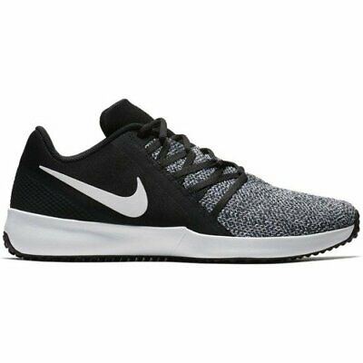 Nike Varsity Compete Trainer AA7064-001 Black White Mens Cross Training Shoes