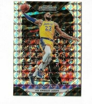 LEBRON JAMES 2018-19 PANINI MOSAIC BASKETBALL CARD- LAKERS A