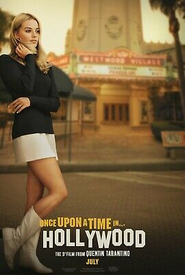 Once Upon a Time in Hollywood B 11-5x17 Promo Movie POSTER Quentin Tarantino