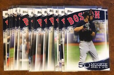 Mookie Betts Player Highlights Topps Series 2 Insert Set Pick Your Card