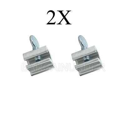 2 PC Sliding Window Locks High Security Home Aluminum Lock With Thumbscrews BN-2