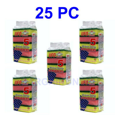 5 To 25 PC Sponges Dish Washing Sponge Scrubber Kitchen Cleaning Tools Helper BU