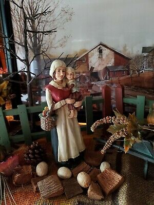 ☆BETHANY LOWE☆PILGRIM☆ THANKSGIVING☆RARE☆RETIRED☆SIGNED☆COLLECTABLE ☆HOLIDAY ☆