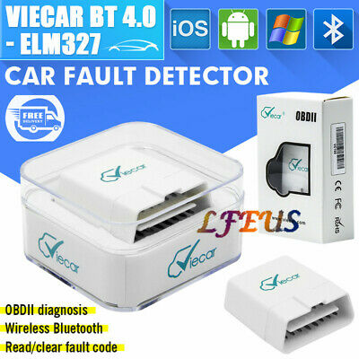 Viecar 4-0 Bluetooth v4-0 OBD2 Car Diagnostics Scanner For AppleAndroid carista