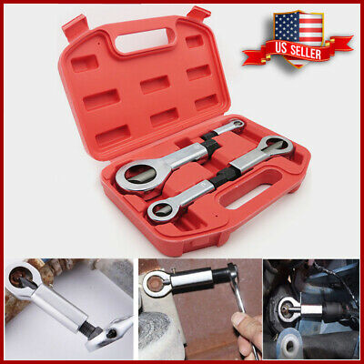 Nut Splitter Breaker 4x Set 9-12mm 12-16mm 16-22mm 22-27mm Cracker Removeing Kit