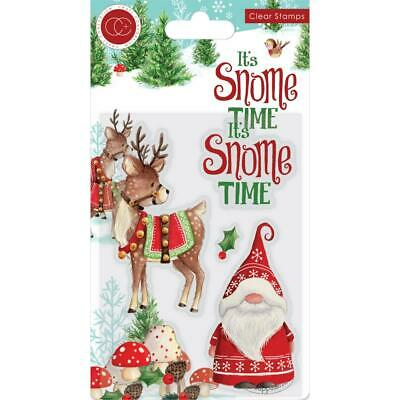 Craft Consortium Its Snome Time - Clear Stamp Set - Snome Time