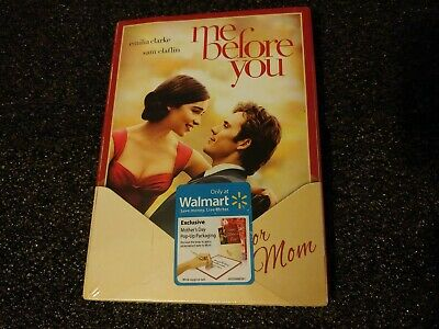 Me Before You DVD 2016  wMothers Day Pop Up Slipcover- Brand New