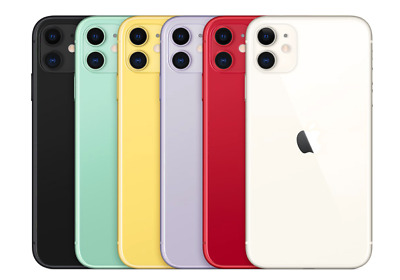 Apple iPhone 11-128GB All Colors- GSM - CDMA Unlocked - Sealed- Factory Warranty