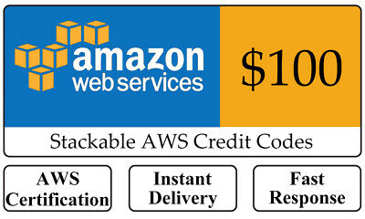 AWS 100 Amazon Web Services Lightsail EC2 VPS Promocode Credit Code exp 2020