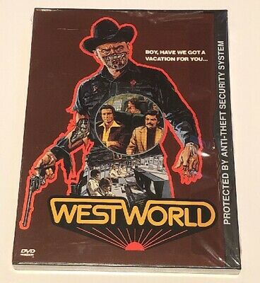 Westworld DVD 2000 Snap Case New