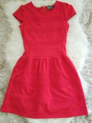 Girls from savoy Anthropologie red dress size 2