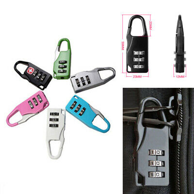 1PC Luggage Lock 3 Digit Combination Padlock Travel Lock for Suitcases Baggage