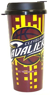 NBA 16oz Team Color Insulated Travel Tumbler Coffee Mug