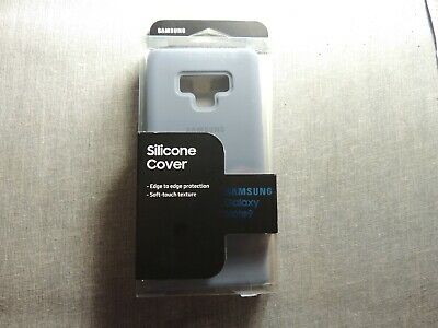 OEM Samsung Galaxy Note 9 Silicon Gel Case Silky Soft-Touch Cover - New
