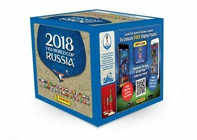 Panini FIFA World Cup  2018 Stickers 2 boxes 100 Packs