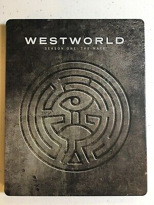 Westworld Season One - The Maze Blu-ray Disc 2017 STEELBOOK RARE 3-Disc Set