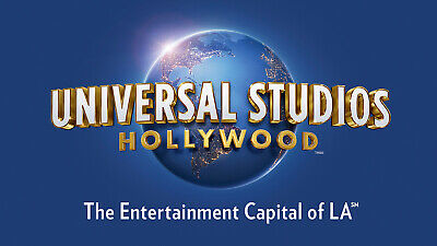 Universal Studios Hollywood NON PEAK 2-day adult admission March 31 2021