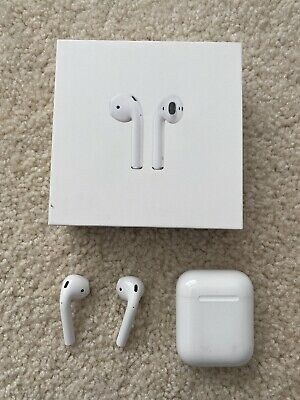 Apple Airpods 1 with Charging Case - White MMEF2AMA - AS IS