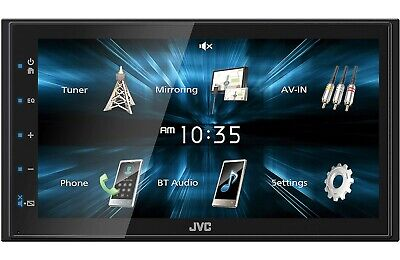 New JVC KW-M150BT 2 DIN 6-75 Media Player USB Mirroring For Android Bluetooth