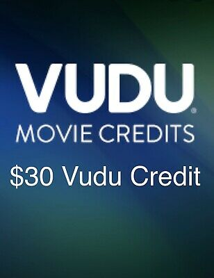 10-00 in VUDU Movie Credits Free Shipping