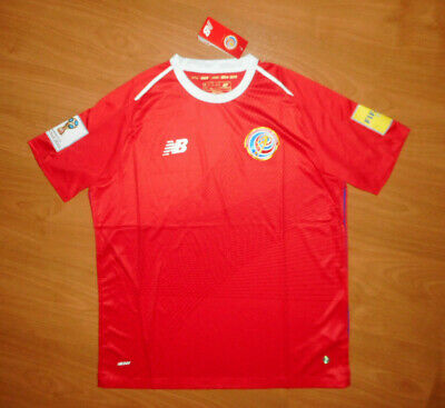 NWT New Balance 2018 World Cup Team Costa Rica Mens Red Home Soccer Jersey XL