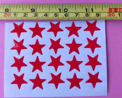 D4 Sticky paper Chinese gift Child sticker Child reward nice red star stunning