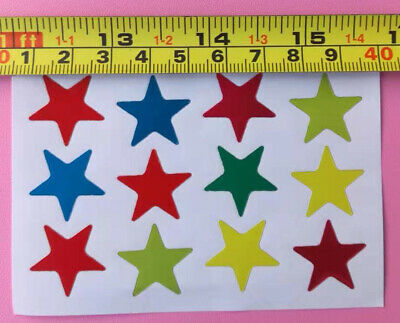 D21  Sticker Sticky paper Chinese gift Child sticker Child reward star Pentagram