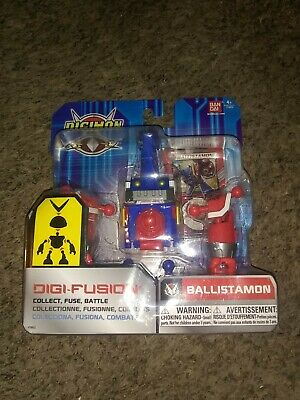 Digimon Fusion - Digi-Fusion Ballistamon Collect Fuse Battle Bandai 2014 MOC