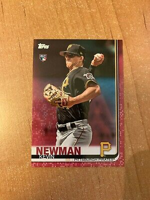 2019 Topps Series 2 - Kevin Newman - Mothers Day Pink Parallel Rookie RC 3550