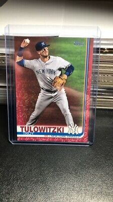 2019 Topps Series 2 TROY TULOWITZKI Mother's Day Pink Parallel 3650 Yankees