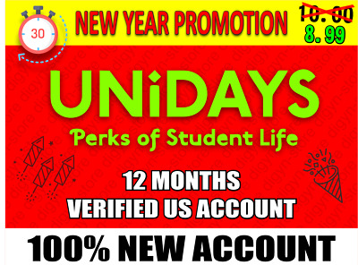 Unidays Student Discounts - Offers Verified US AccountDELIVERY IN 30 MINUTES