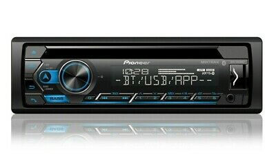 Pioneer DEH-S4200BT Bluetooth Car Stereo CD Receiver Player with USB - Aux