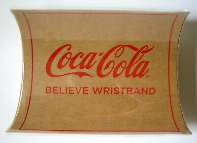 USWNT SheBelieves RED NET WRISTBAND Coca-Cola Limited Edition 2019 World Cup