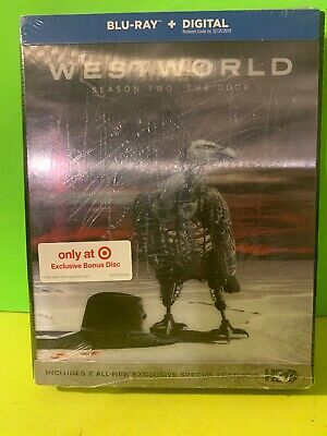 NEW Westworld Season Two The Door Blu Ray - Digital Target Exclusive Bonus Disc