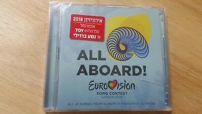 NETTA Toy EUROVISION 2018 ISRAELI SEALED CD