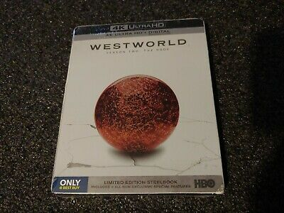 Westworld Season 2 Two  The Door 4K UHD  Digital Best Buy Steelbook OOP
