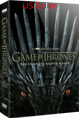 Game of Thrones Complete Eighth 8th Season 8 DVD  New US Seller