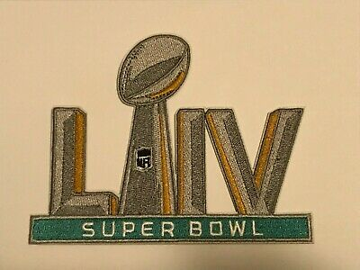SUPER BOWL 54 PATCH LIV 5 Embroidered Patch Iron On Sew On 222020