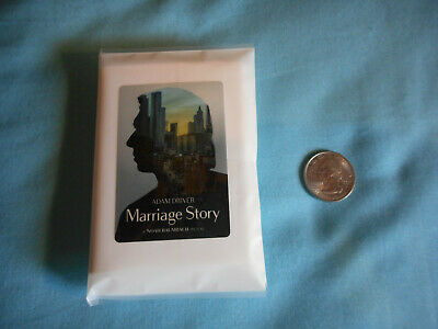 Scarlett Johansson Adam Driver MARRIAGE STORY official promo pack of Tissues New