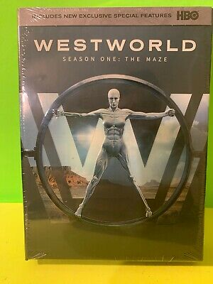 WESTWORLD The Complete First Season DVD Disc Set NEW SEALED