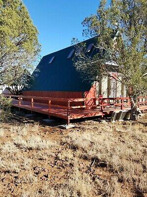 OFF GRID Cabin On 2-27 Acres Near Ashfork Arizona