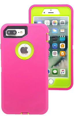 For Apple iPhone 6 6s 7 8 Plus Case Cover Protective Hybrid Rugged Shockproof