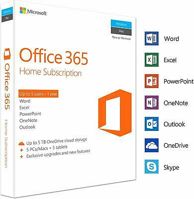 MS Office 365 Pro Plus 2019 lifetime Account 5 devices Win Mac Mobil New-Account
