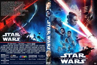 Star Wars The Rise of Skywalker DVD 2019 2020 NEW Factory Sealed