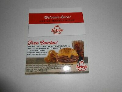 Lot of 50 You Pick Combo Meal Cards