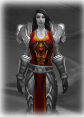 🔥 🔥 🔥  World of Warcraft WoW TCG Loot - TABARD OF FLAME Red Landro Longshot