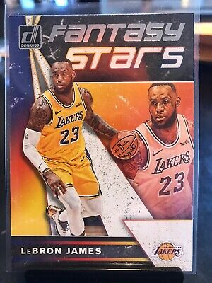 Lebron James 2019 Panini Donruss Fantasy Stars 4